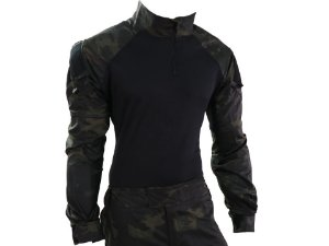 COMBAT SHIRT - MULTICAM BLACK