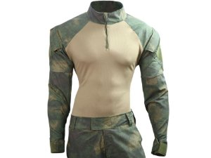 COMBAT SHIRT - ATACS DARK FLOREST