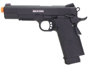 PISTOLA AIRSOFT  - KJW - KJ WORKS - COLT 1911 KP11 BLACK - GBB - CO2