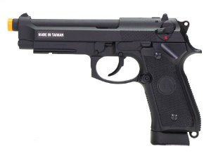 PISTOLA AIRSOFT - KJW - KJ WORKS - BERETTA M9A1 - GBB - CO2