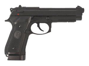 PISTOLA AIRSOFT - KJW - KJ WORKS - M9A1 - GBB - GREEN GAS