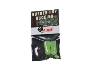 RUBBER HOP BUCKING 70º + NUB ARES - 2 UNIDADES