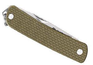 RUIKE KNIFE - S21 - MINI CANIVETE PARA USO DIÁRIO - GREEN