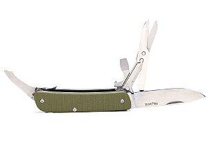 RUIKE KNIFE - M31 - CANIVETE MULTIFUNCIONAL  - GREEN