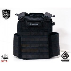 COLETES TÁTICOS TIPO PLATE CARRIER PATRIOT - BLACK