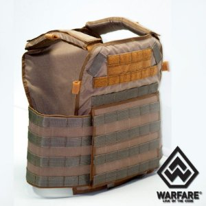 COLETE TÁTICO TIPO PLATE CARRIER PATRIOT - COYOTE