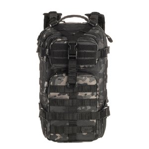 MOCHILA INVICTUS ASSAULT - CAMUFLADO MULTICAM - BLACK