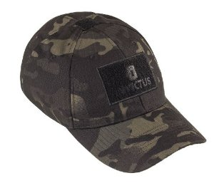 BONÉ INVICTUS TROOPER CAM. MULTICAM - BLACK