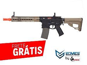 EMG - RIFLE AIRSOFT M4 SHARPS BROS FULL METAL 10 POLEGADAS - EXCLUSIVE MULTICOLOR