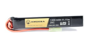 BATERIA PARA AIRSOFT Amoeba - 20C - 1 Pack - 1300 mAh - 11.1V