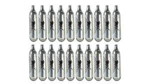 20 (VINTE) Cápsulas Descartáveis de CO2 - 12G - Aim Top