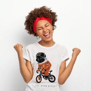 Camiseta Baby Look The Moon Rider
