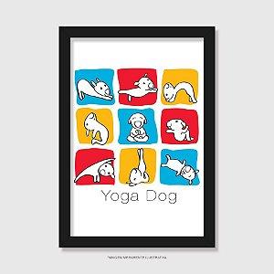 Quadro Yoga Dog