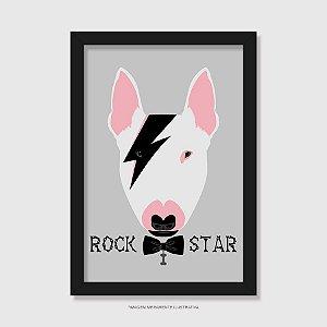 Quadro Bull Terrier Rock Star