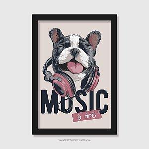 Quadro Music and Dog