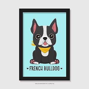 Quadro French Bulldog - Modelo 3