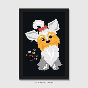 Quadro Yorkshire Terrier - Modelo 1