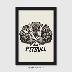 Quadro Pitbull Cachorrão - Modelo 1