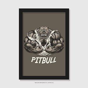 Quadro Pitbull Cachorrão - Modelo 2