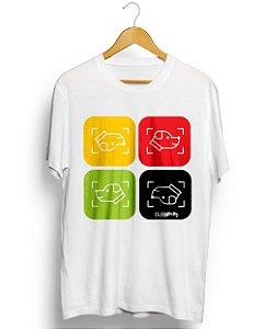 Camiseta Cachorro Cores