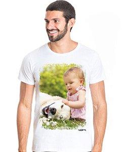 Camiseta Personalizada com Foto do seu Cachorro