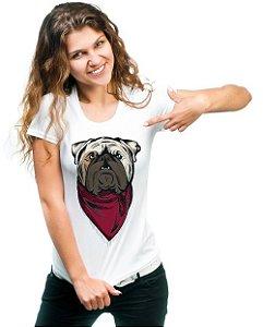 Camiseta Baby Look Bulldog Inglês