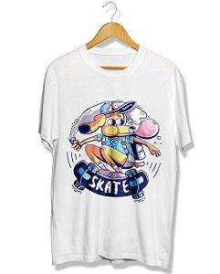 Camiseta Cachorro Skatista