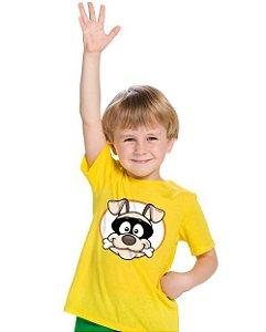 Camiseta Infantil Cão Bandido