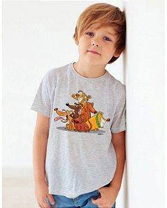Camiseta Infantil Vira Lata Cachorrada