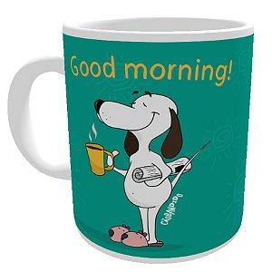 Caneca Cachorro Good Morning