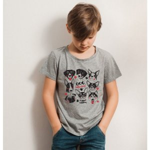 Camiseta Infantil Dog Collection