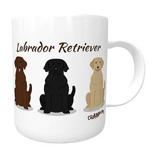 Caneca Labrador Todas as Cores