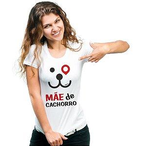 Camiseta Baby Look Mãe de Cachorro