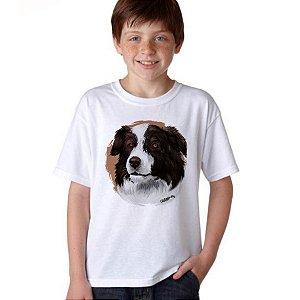Camiseta Infantil Border Collie