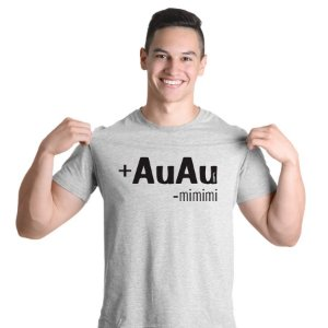 Camiseta Mais AuAu e Menos Mimimi