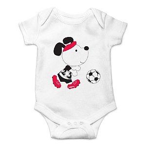 Body Bebê Jogador de Futebol
