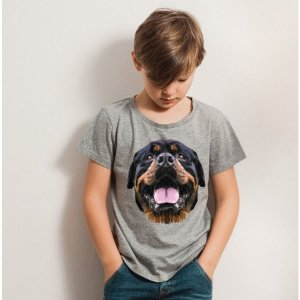 Camiseta Infantil Rottweiler