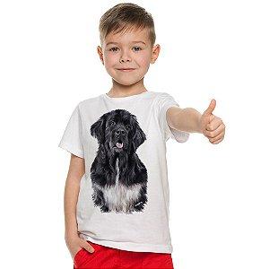 Camiseta Infantil Terra Nova Preto Realista