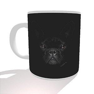Caneca Bulldog Francês Preto