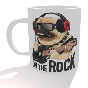 Caneca Pug On The Rock