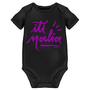 Body Bebê Iti Malia - Preto