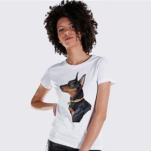 Camiseta Baby Look Pinscher