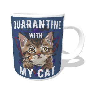 Caneca Quarantine With My Cat