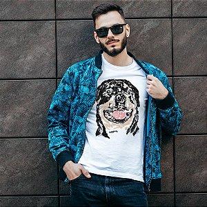 Camiseta Rottweiler Pintura Digital