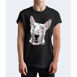 Camiseta Bull Terrier Pintura Digital