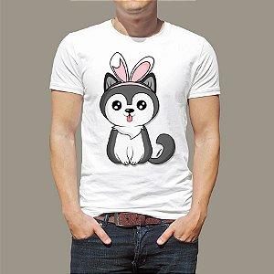 Camiseta Cachorro Páscoa