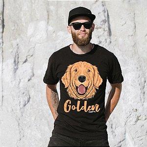 Camiseta Cachorro Golden