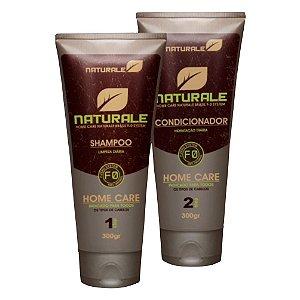 Kit de manutenção Naturale home care shampoo + Condicionador