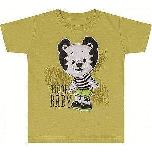 Camiseta Manga Curta - Verde (Tigor Baby) - Ref. 10205186 - Tigor T db26d136c3bba
