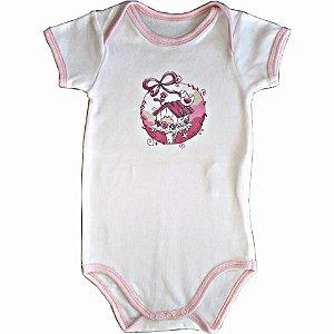 b379ed6d48 Body Lilica Ripilica Branco e rosa